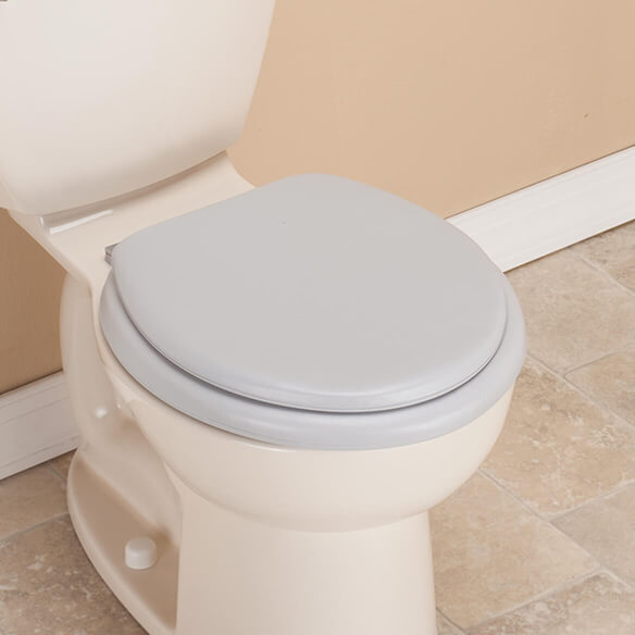 Padded Toilet Seat Cushioned Toilet Seats Easy Comforts