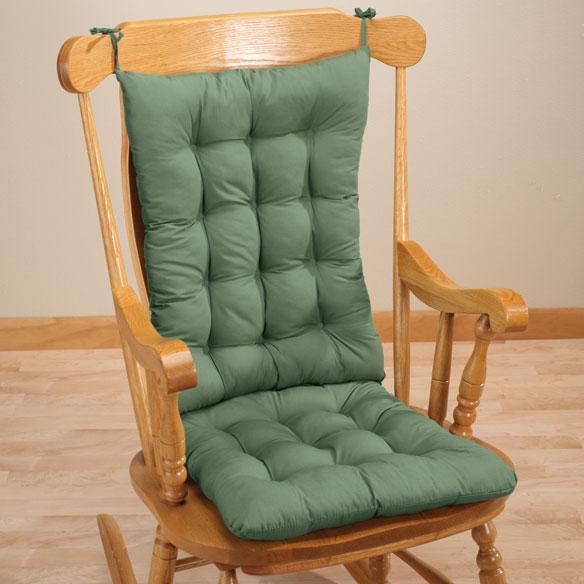 Rocker Chair Pad Set Rocker Chair Pads Easy Comforts