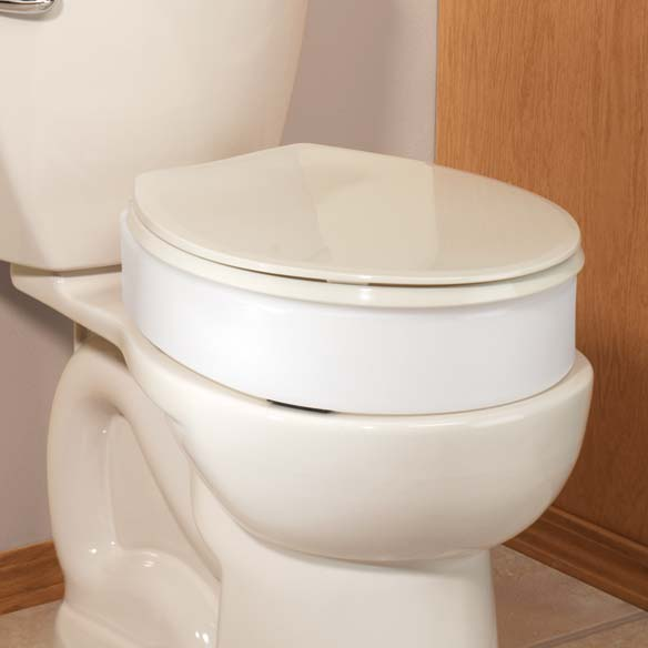 Toilet Seat Riser Elevated Toilet Seat Easy Comforts
