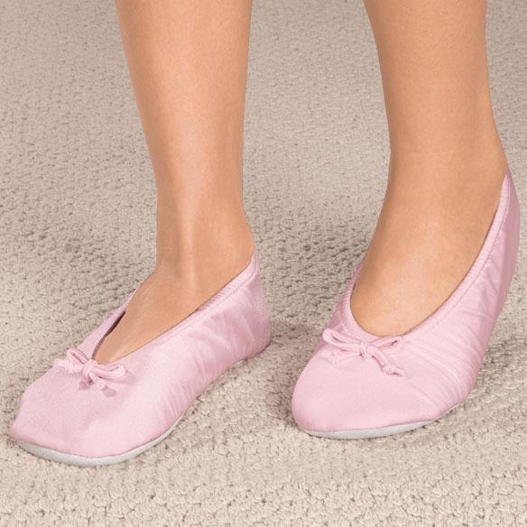Satin Ballet Slippers Satin Slippers Womens Slippers