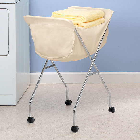 Laundry Cart With Wheels Rolling Laundry Cart Easy