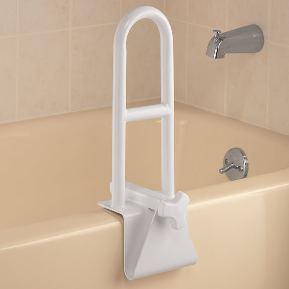 Adjustable Tub Grab Bar - Safety Bar For Bathtub - Easy ...