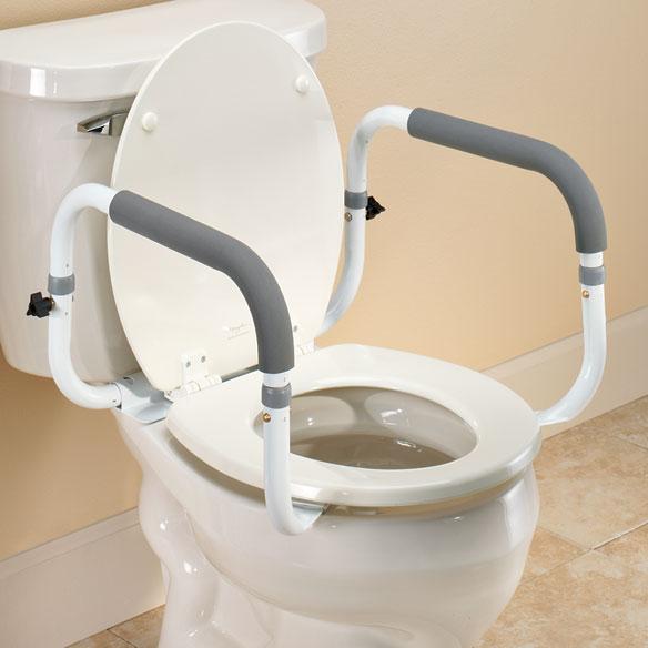 Toilet Safety Rails Adjustable Toilet Safety Rails