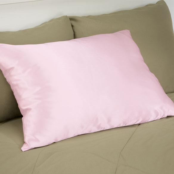 Buy Satin Pillowcase Nz: Satin Pillowcase With Zipper