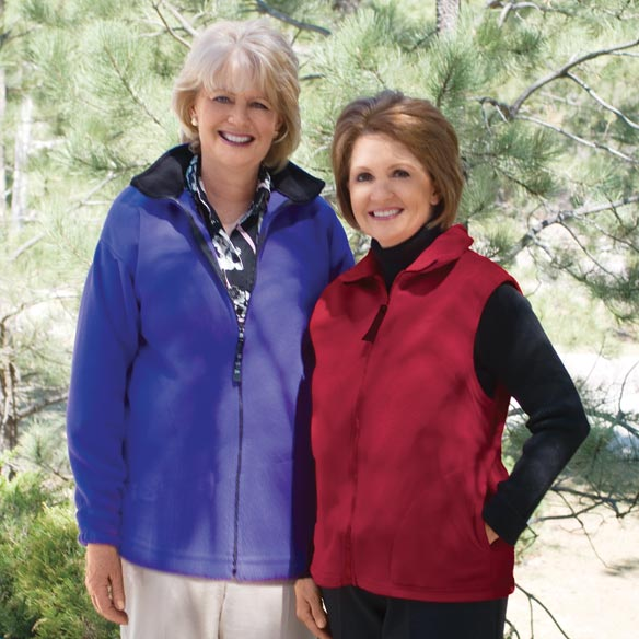Micro Fleece Vest By Sawyer Creek Studio™​ - View 3