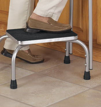 Step Stool With Handle - View 3