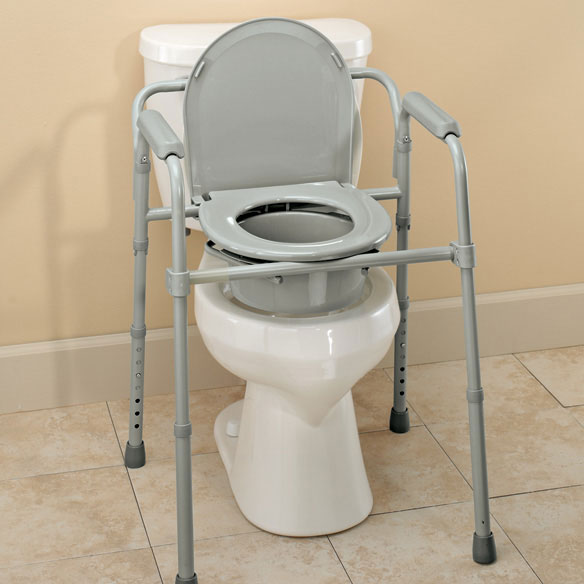 Bariatric Folding Commode - View 3