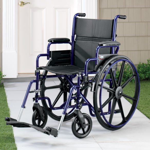 Fully Collapsible Wheelchair - View 3