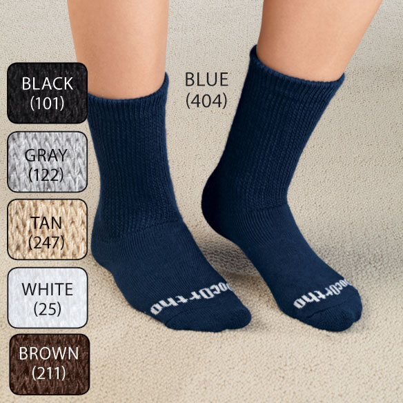 Doc Ortho™ Ultra Soft Diabetic Socks - 3 Pairs - View 2