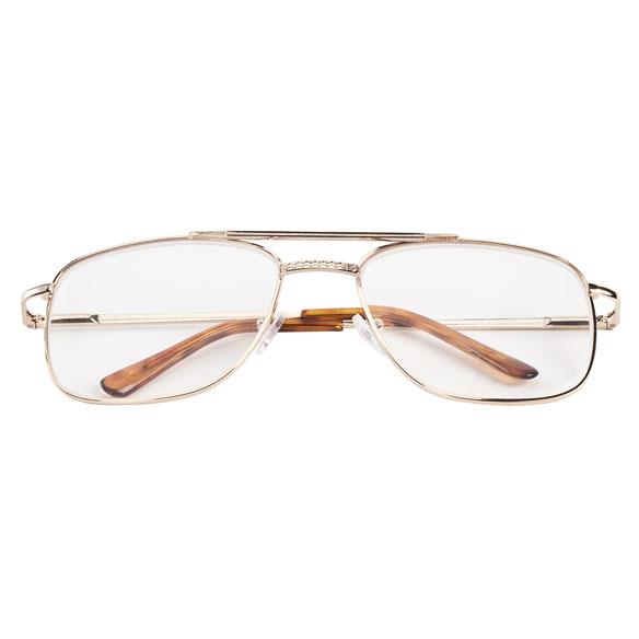 Spring Hinge Pilot Reading Glasses - 3 Pack - View 3