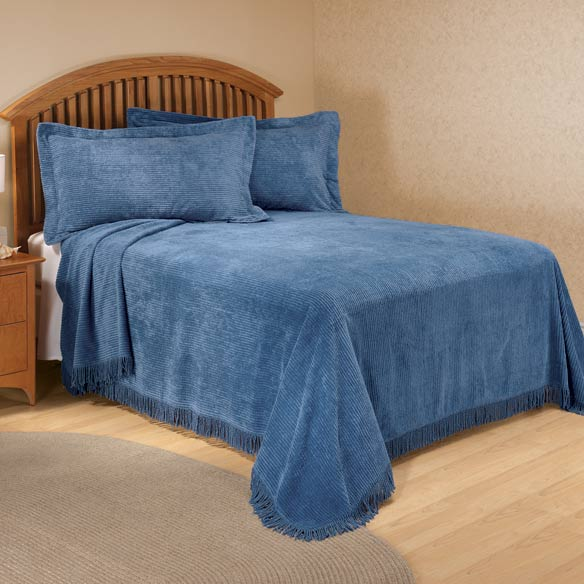 The Jane Chenille Bedding by East Wing Comforts - View 3