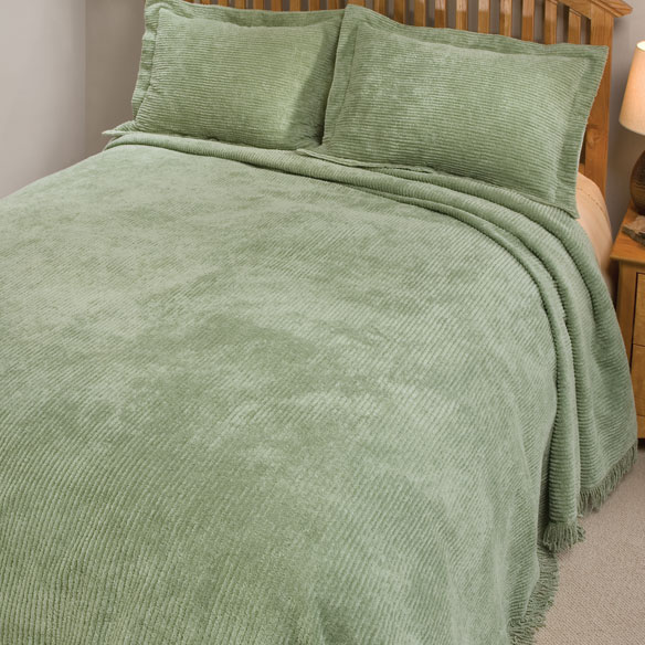 The Jane Chenille Bedding by East Wing Comforts - View 4