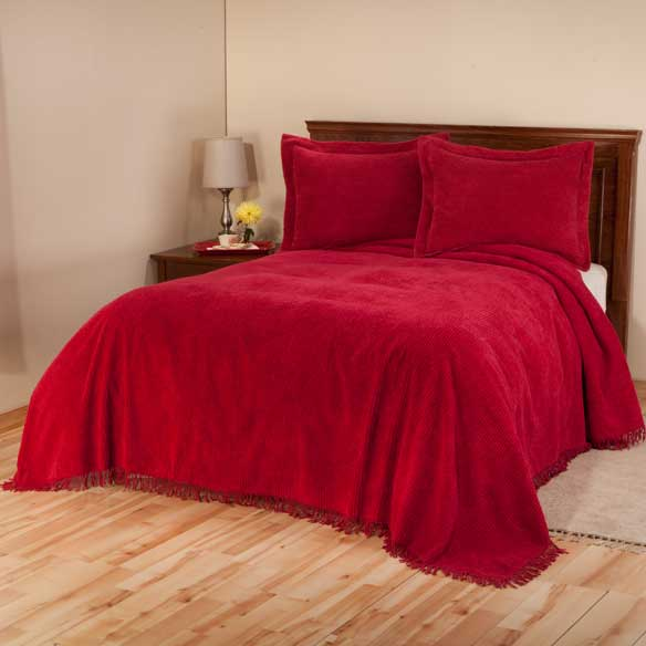 The Jane Chenille Bedding by East Wing Comforts - View 5