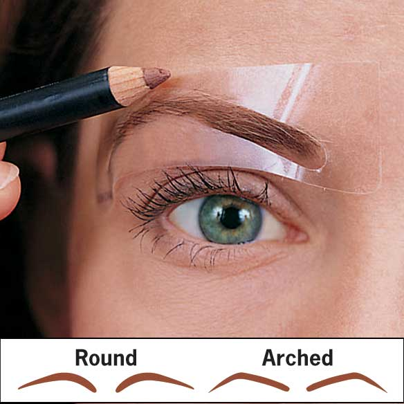 Brow Shaping Stencils - 6 Pairs - View 2
