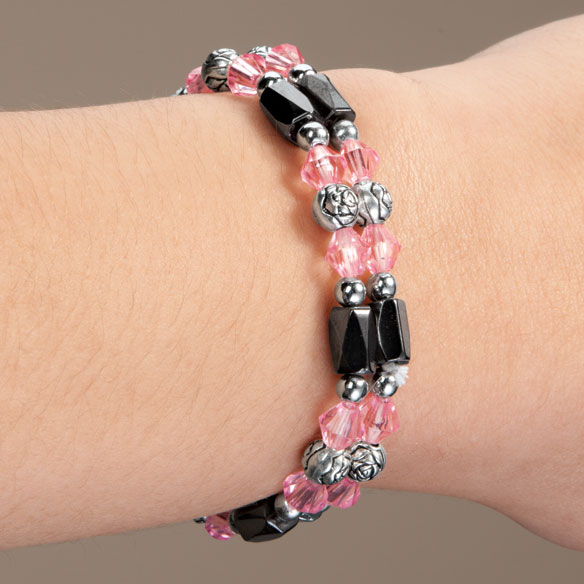 Rose Hematite Bracelets, Set of 2 - View 4