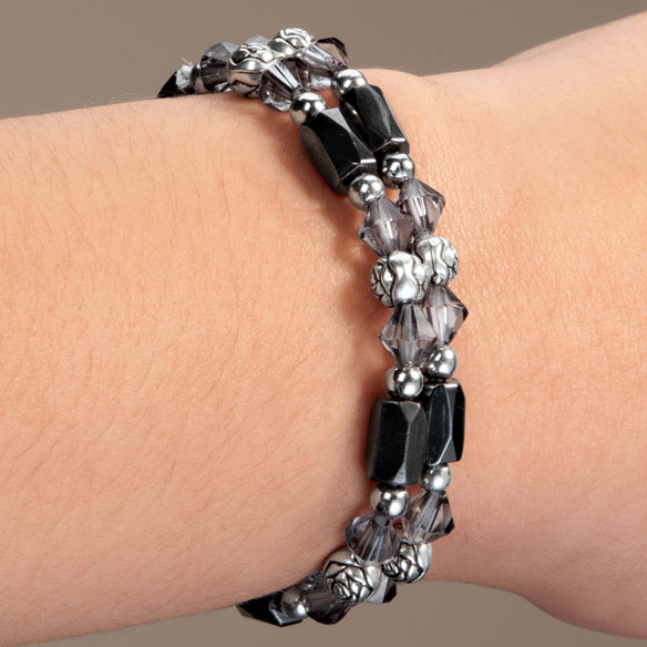 Rose Hematite Bracelets, Set of 2 - View 5