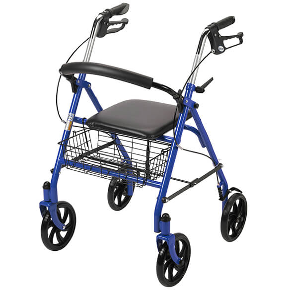 Durable Steel Rollator - View 3