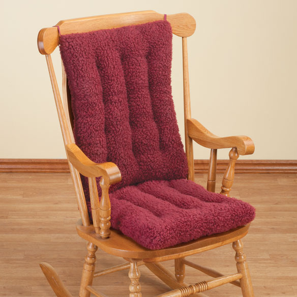 Sherpa Rocking Chair Cushion Set by OakRidge™ Comforts - View 3