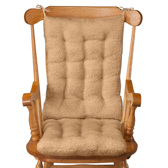 Sherpa Rocking Chair Cushion Set by OakRidge Comforts™ - View 4