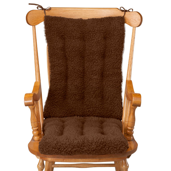 Sherpa Rocking Chair Cushion Set by OakRidge™ Comforts - View 5