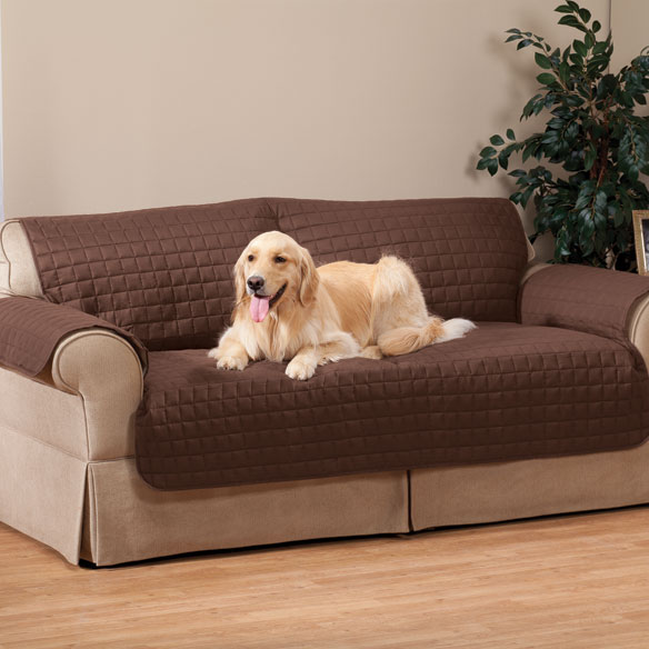 Microfiber Loveseat Protector by OakRidge™ Comforts - View 3