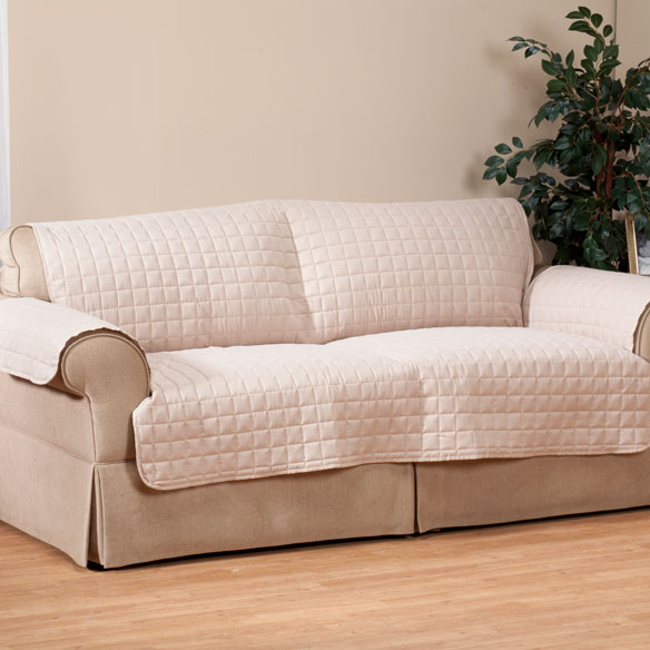 Microfiber Loveseat Protector by OakRidge Comforts™ - View 4