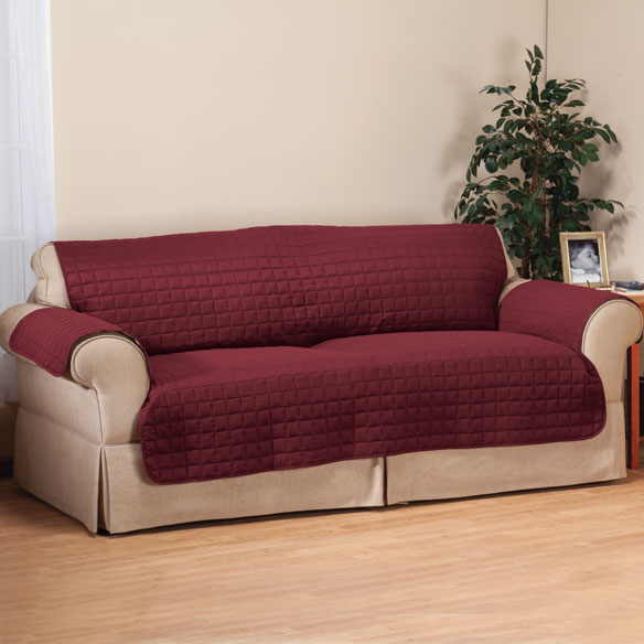 Microfiber Loveseat Protector by OakRidge™ Comforts - View 5