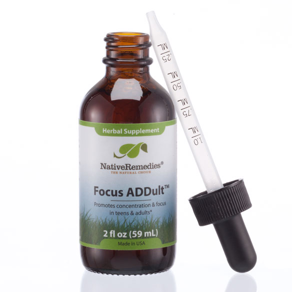 NativeRemedies® Focus ADDult - 2 oz. - View 3