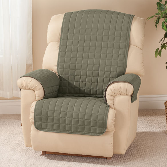 Microfiber Recliner Protector by OakRidge Comforts™ - View 3