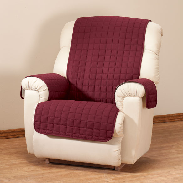 Microfiber Recliner Protector by OakRidge Comforts™ - View 5