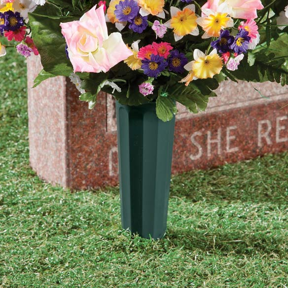 Cemetery Vases, Set of 2 - View 2