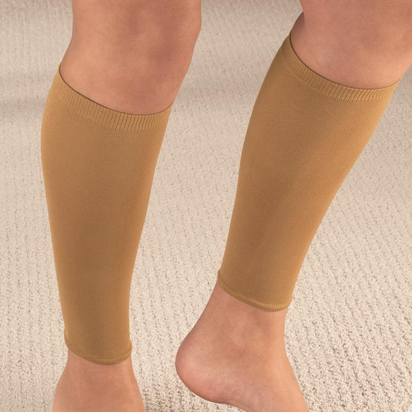 Calf Compression Sleeves, 20-30 mmHg - View 4