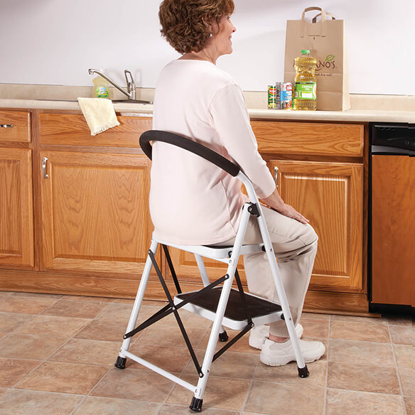 Step Ladder Stool Combo View 2