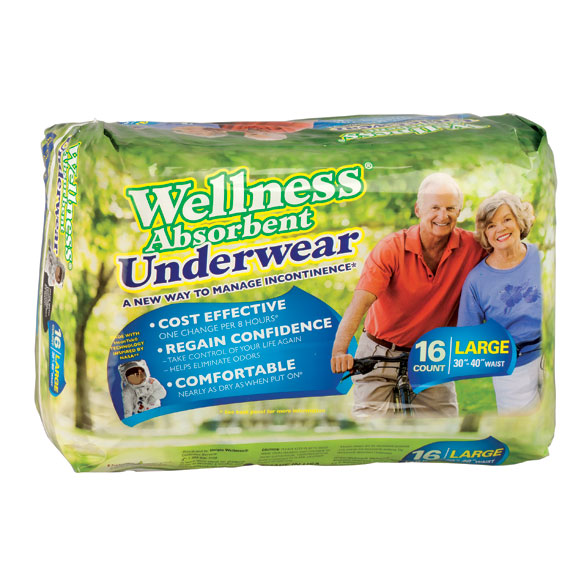 Wellness Absorbent Underwear - Package - View 2