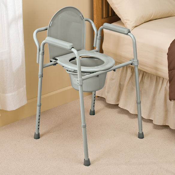 Folding Commode                              XL - View 2