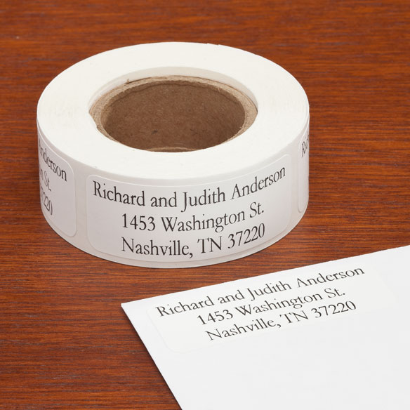 Personalized Large Print Address Labels - Set of 200 - View 2