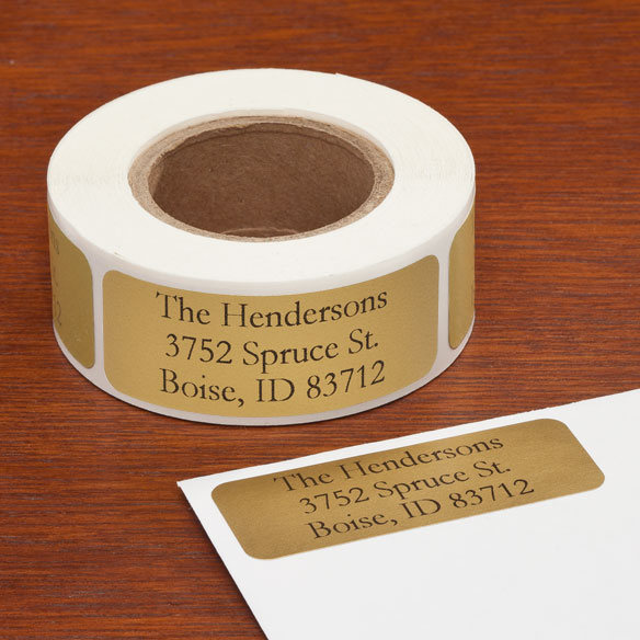 Personalized Large Print Address Labels - Set of 200 - View 4