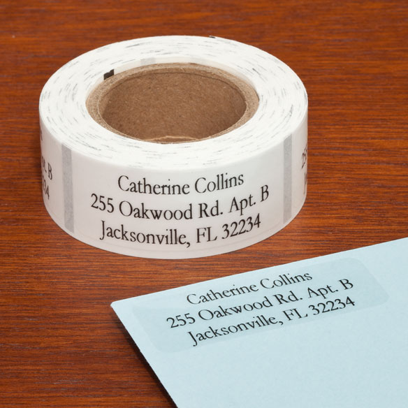 Personalized Large Print Address Labels - Set of 200 - View 5