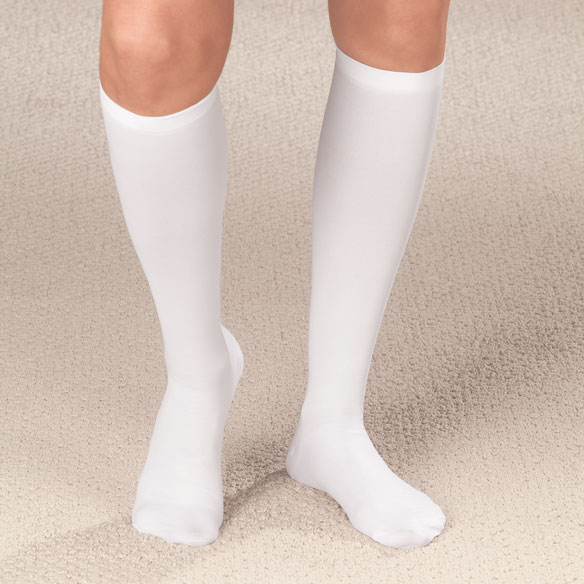 Compression Closed Toe Knee Highs, 20–30 mmHg - View 3