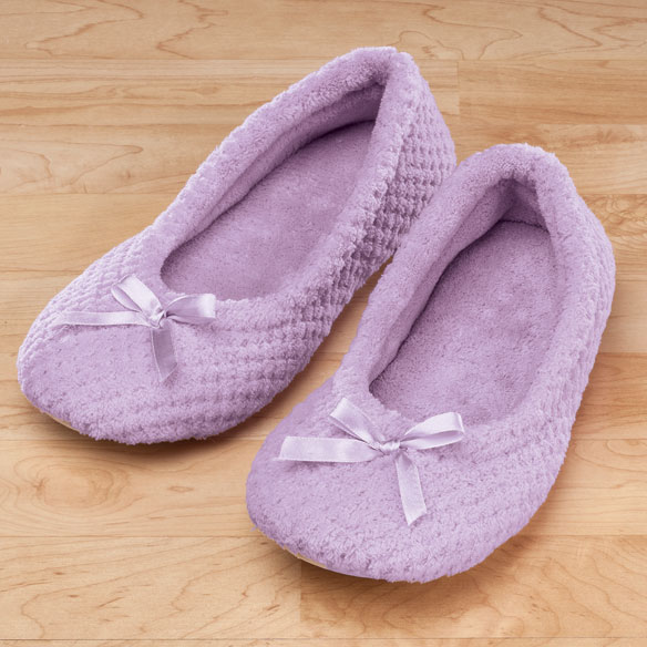 Chenille Ballet Slippers View 2