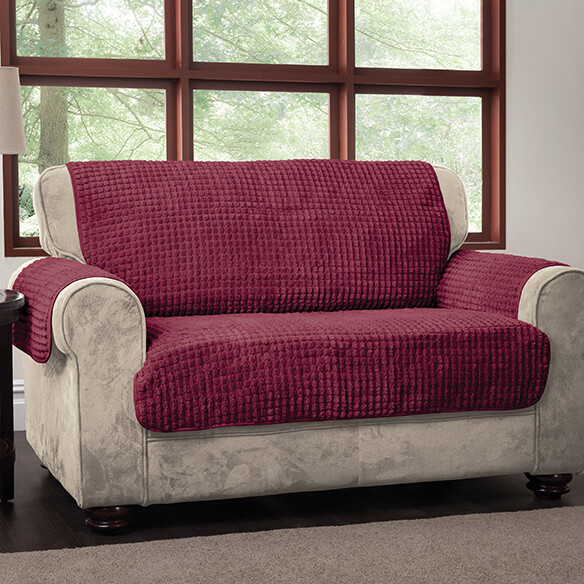 Chenille Loveseat Protector - View 2