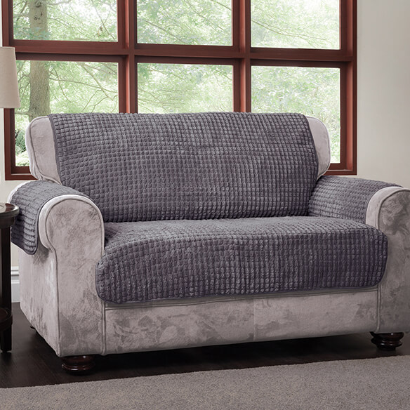 Chenille Loveseat Protector - View 3
