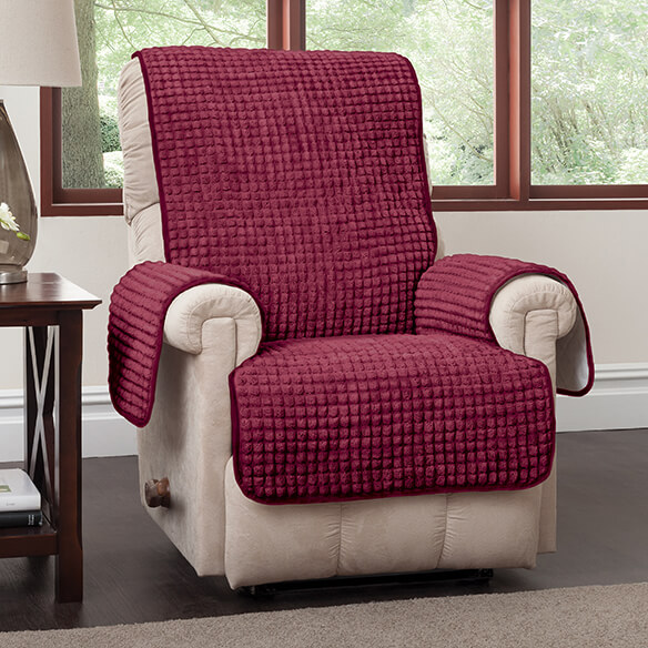 Chenille Recliner Protector - View 2