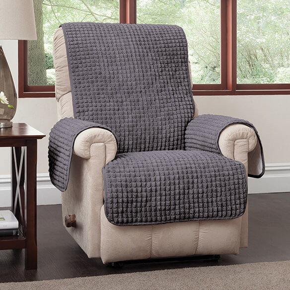Chenille Recliner Protector - View 3
