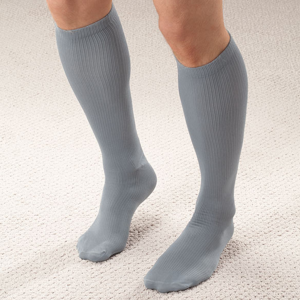 Men's Light Compression Trouser Socks - View 3