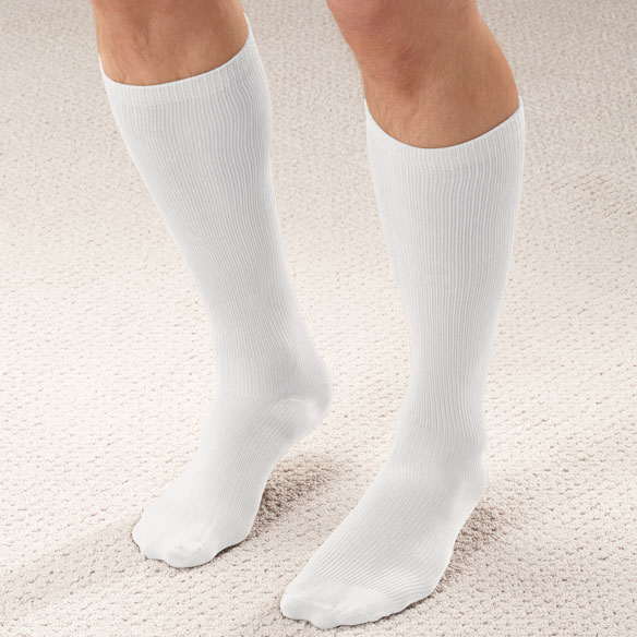 Men's Light Compression Trouser Socks - View 5