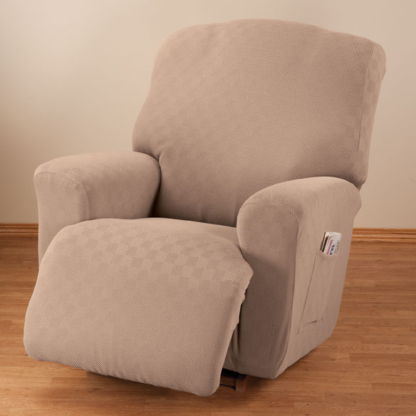 Newport Stretch Furniture Recliner Cover - View 4
