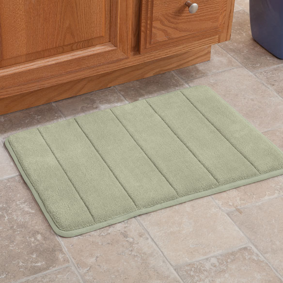 Microfiber Memory Foam Bath Mat Bath Mat Easy Comforts