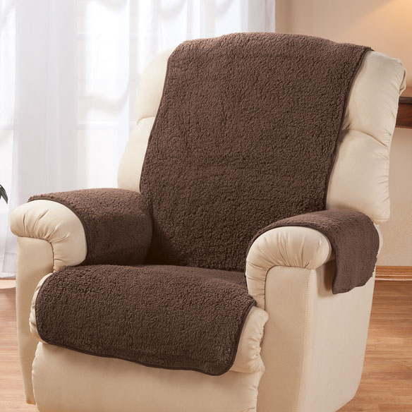 Sherpa Recliner Protector by OakRidge™ Comforts - View 3