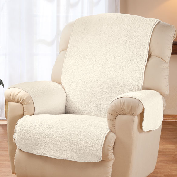 Sherpa Recliner Protector by OakRidge™ Comforts - View 5